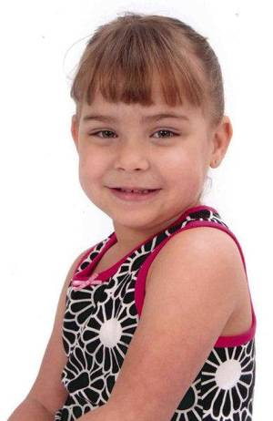 Photo - Serenity Anne Deal, 5, died June 4 of child abuse.