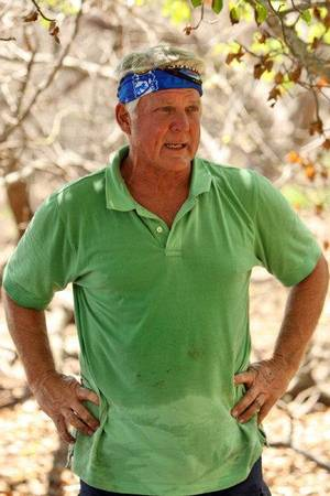 "Photo - Jimmy Johnson is one of the competitors in ""Survivor: Nicaragua,"" which premieres at 7 tonight on CBS. <strong>MONTY BRINTON - CBS</strong>"