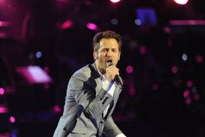 "photo - Tony Lucca performs on Season 2 of ""The Voice."" NBC photo <strong></strong>"