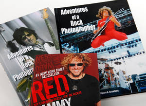Vernon Gowdy III is  a photographer who has spent more than three decades photographing rock concerts in Oklahoma and has produced several iconic images of legendary rockers, including Sammy Hagar. He was photographed in the Oklahoma studio Wednesday,  Feb. 29. 2012 <strong>JIM BECKEL - THE OKLAHOMAN</strong>