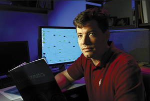 Photo - OMRF scientist Jonathan Wren <strong>Provided</strong>