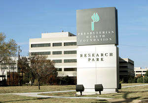 photo - PRESBYTERIAN HEALTH FOUNDATION RESEARCH PARK / BUILDING / EXTERIOR: This is the PHF Research Park in Oklahoma City, OK, Thursday, Nov. 18, 2010. By Paul Hellstern, The Oklahoman ORG XMIT: KOD