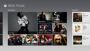 Photo -   This image provided by Microsoft Corp. shows a screen image of their new service called, Xbox Music. Buyers of tablets that run Microsoft's newest operating system, Windows 8, are in for a pleasant musical surprise: they'll be able to handpick from a selection of millions of songs and stream them for free as long as they put up with an audio ad every 15 minutes. (AP Photo/Microsoft Corp.)