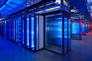 Photo - The server room at Facebook's Prineville Data Center in Prineville, Ore is shown.  AP Photo