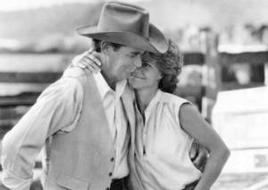 James Garner, left, starred with Sally Field in 'Murphy's Romance' in 1985. His performance in the film earned him an Oscar nomination.