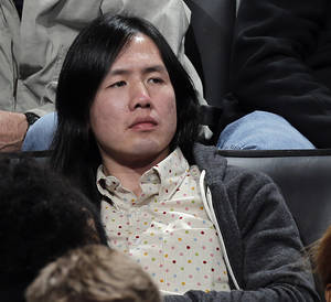 photo - Nike shoe designer Leo Chang watches the the NBA basketball game between the Oklahoma City Thunder and the Memphis Grizzlies at Chesapeake Energy Arena on Wednesday, Nov. 14, 2012, in Oklahoma City, Okla.   Photo by Chris Landsberger, The Oklahoman <strong>CHRIS LANDSBERGER - CHRIS LANDSBERGER</strong>