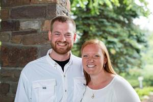 Photo - Dr. Kent Brantly and his wife, Amber, are seen in an undated photo provided by Samaritan's Purse. Brantly became the first person infected with Ebola to be brought to the United States from Africa, arriving at at Emory University Hospital, in Atlanta on Saturday, Aug. 2, 2014. Fellow aid worker Nancy Writebol was expected to arrive in several days. Experts say Emory University Hospital is one of the safest places in the world to treat someone with Ebola, the virus that has killed more than 700 people in Africa. (AP Photo/Samaritan's Purse)