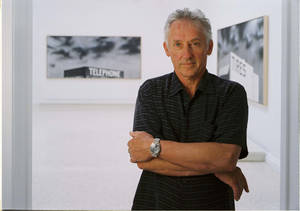 Photo - A 2005 portrait of artist Ed Ruscha shortly before his induction into the Oklahoma Hall of Fame. Ruscha, of California, was born and raised in Oklahoma. PHOTO PROVIDED <strong>OKLAHOMA HERITAGE ASSOCIATION -</strong>