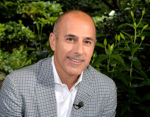 "Photo - This undated image released by NBC shows Matt Lauer, co-host of the ""Today"" show in London. Lauer has no regrets asking General Motors CEO Mary Barra about balancing work and motherhood, saying he sees it as an issue that affects all working parents regardless of their gender. The host of NBC's ""Today"" show, 56, said Friday, June 27, 2014, he'd welcome the same question if it were put to him. He struck a raw nerve in Thursday's live interview with a question criticized as sexist. (AP Photo.NBC, Anthony Harvey)"