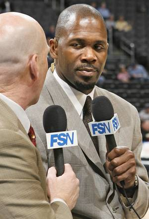 photo - Thunder analyst Grant Long played 15 seasons in the NBA.PHOTO BY BRYAN TERRY, THE OKLAHOMAN ARCHIVES