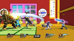 "Photo - This video game image released by Sony shows a scene from ""PlayStation All-Stars Battle Royale."" (AP Photo/Sony)"