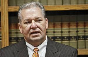 photo - Oklahoma County District Attorney David Prater addresses the media during a press conference at the Oklahoma County Office Building on Friday, Sept. 3, 2010, in Oklahoma City, Okla. Photo by Chris Landsberger