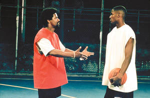 "Photo - Denzel Washington, left, and Ray Allen star in ""He Got Game."""
