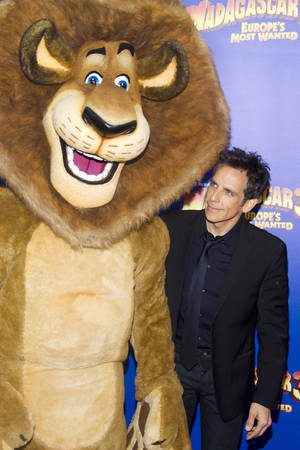 "Photo -   Ben Stiller attends the premiere of ""Madagascar 3: Europe's Most Wanted"" on Thursday, June 7, 2012 in New York. (Photo by Charles Sykes/Invision/AP)"