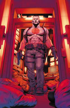 "Photo - Artwork from the upcoming  ""Bloodshot"" No. 2.  Valiant Comics. <strong></strong>"