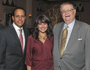 Photo - Joseph Harroz Jr., Samia Harroz, William J. Ross.  PHOTO BY STEVE SISNEY, THE OKLAHOMAN