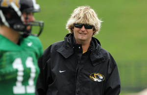 photo - Former Missouri offensive coordinator David Yost has reportedly been offered the same position at Oklahoma State.  AP PHOTO