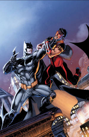 """Photo - The cover to """"Justice League of America's Vibe"""" No. 4. DC Comics. <strong></strong>"""