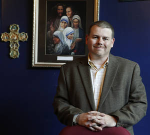 Photo - Rick Denny is the new executive director of Jesus House in downtown Oklahoma City. Donors have helped the Jesus House pay off debts and return to normal operations, but the agency still needs financial help, he said. FROM THE OKLAHOMAN ARCHIVES