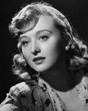 "Photo -   In a 1948 file photo actress Celeste Holm poses as her character Anne from the motion picture ""Gentleman's Agreement."" Holm, who won an Oscar in ""Gentleman's Agreement,"" died Sunday July 15, 2012, a relative said. She was 95. (AP Photo/file)"