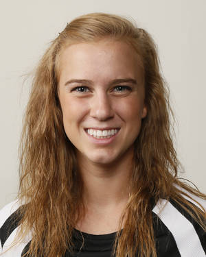 photo - Courtney Bowie, Bethany volleyball player, poses for a mug shot during The Oklahoman's Fall High School Sports Photo Day in Oklahoma City, Wednesday, Aug. 15, 2012. Photo by Nate Billings, The Oklahoman