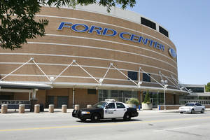 Photo - Soon, the Ford Center will have a new name. By Paul Hellstern, The Oklahoman Archive