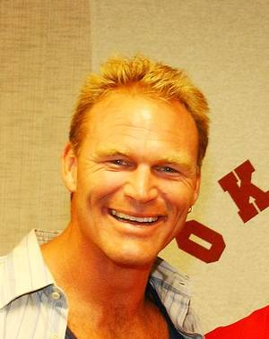Photo - Brian Bosworth Former OU football standout