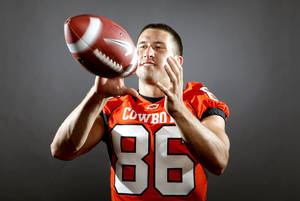 Photo - Oklahoma State's Bo Bowling poses for a photo in Stillwater, Okla., Sunday, August 10, 2010.  Photo by Bryan Terry, The Oklahoman