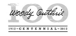 Photo - Woody Guthrie / 100 / 1912 - Centennial - 2012 / LOGO / GRAPHIC