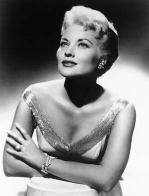 "Photo - This 1958 file photo shows singer Patti Page, who made ""Tennessee Waltz"" the third best-selling recording ever, has died. She was 85.  Page died Jan. 1, 2013, in Encinitas, Calif., according to her manager. AP Photo <strong></strong>"