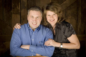 "Photo - Greg and Erin Smalley will present a free marriage conference, ""Fight Your Way to a Better Marriage,"" on Jan. 18 at Metropolitan Baptist Church, 7201 W Britton Road. Photo provided"