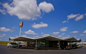 photo - Ballard's Drive-In in Pauls Valley closes on Friday, July 20. <strong>CHRIS LANDSBERGER - THE OKLAHOMAN</strong>