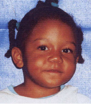 Photo -   ** FILE **Rilya Wilson is seen in an undated file photo from Miami-Dade Police. The trial for Geralyn Graham accused of killing Wilson a decade ago started Monday Nov. 26, 2012. (AP Photo/Miami-Dade Police Department)