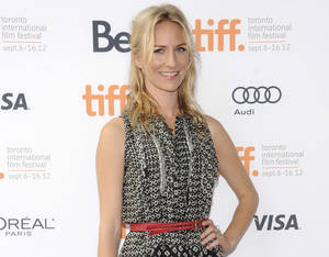 """Photo - FILE - This Sept. 7, 2012 file photo shows actress Mickey Sumner at the """"Imogene"""" premiere during the Toronto International Film Festival in Toronto. Sumner has signed up to make her off-Broadway debut in Craig Lucas's new comedy """"The Lying Lesson."""" The Atlantic Theater Company said Tuesday, Jan. 22, 2013, that Sumner, daughter of musician Sting and Trudie Styler will star opposite Carol Kane in the comic thriller. (Photo by Evan Agostini/Invision/AP, file)"""