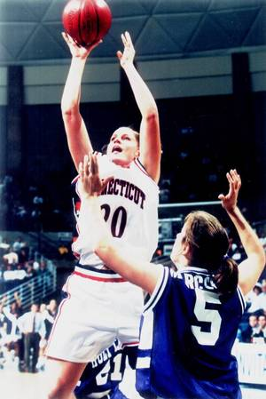 Photo - Stacy Hansmeyer, Uconn women's basketball player