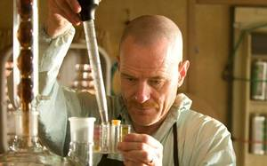 Photo - Actor Bryan Cranston appears in a scene from Breaking Bad. Photo by Rex Features