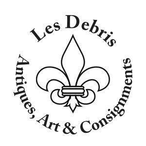 photo - Logo for Les Debris antique store along Automobile Alley. &lt;strong&gt; - PROVIDED&lt;/strong&gt;