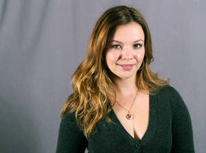 "Photo - This Sept. 18, 2013 photo shows actress Amber Tamblyn in New York. Tamblyn will guest star as Charlie Harper's daughter in the upcoming season of the comedy series ""Two and a Half Men,"" premiering Thursday, Sept 26 at 9:30 p.m. on CBS. (Photo by Diane Bondareff/Invision/AP)"