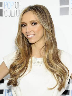 """Photo - FILE - This April 30, 2012 file photo shows TV personality Giuliana Rancic from """"Fashion Police"""" attending an E! Network upfront event at Gotham Hall in New York. (AP Photo/Evan Agostini, file)"""