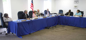 photo - Oklahoma Pardon and Parole Board members meet in Oklahoma City, OK, Friday, August 24, 2012,  By Paul Hellstern, The Oklahoman