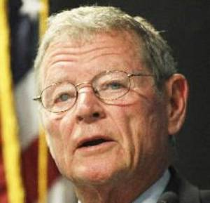 photo - U.S. Sen. Jim Inhofe <strong></strong>