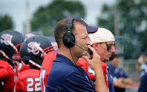 Photo - OSU: Oklahoma State University football's new offensive coordinator and quarterback coach Mike Yurcich of Shippensburg University.   photo provided