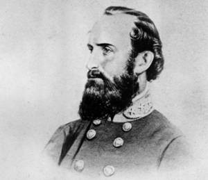 "Photo - FILE - This undated file photo shows a drawing of Thomas Jonathan ""Stonewall"" Jackson, the Confederate general during the American Civil War, 1861-65. On Friday, May 10, 2013, the 150th anniversary of Jackson's death, a trauma surgeon with experience on the battlefield in Iraq and Afghanistan has reinvestigated the medical record to offer a diagnosis of Jackson's death. University of Maryland surgeon Joseph DuBose says Jackson likely died of pneumonia. He is confirming the diagnosis given by Jackson's physician, the famed Confederate doctor Hunter McGuire. (AP Photo/File)"