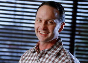 photo - Dr. Matthew Ryan, a neurologist at Norman Regional Health System, performs memory screenings on people suffering from a variety of issues. Ryan says often patients suffer from dementia because of medications, including prescription narcotics, that they're taking. PHOTO BY BRYAN TERRY, THE OKLAHOMAN