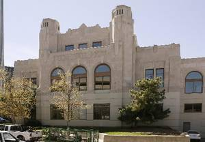 Photo - The Union Depot in which the Oklahoma Jazz Hall of Fame is located is seen in this file photo.
