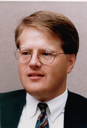 Photo - Brad Miller, former assistant district attorney in Oklahoma County. Original photo shot Sept. 7, 1993. Photo by David McDaniel, The Oklahoman. ORG XMIT: KOD