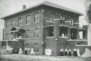 Photo - The north building of the Holmes Home of Redeeming Love is shown.