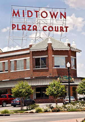 Photo - Plaza Court in MidTown is shown in this 2011 photo.  Photo by Chris Landsberger, The Oklahoman Archives