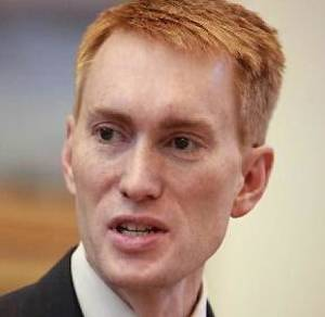 photo - Rep. James Lankford Elected Tuesday to a second term in Congress.