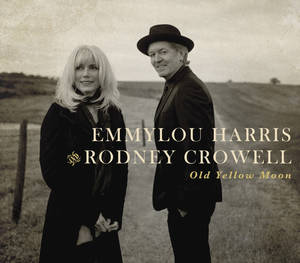 "Photo - This CD cover image released by Nonesuch shows ""Old Yellow Moon,"" by Emmylou Harris and Rodney Crowell. (AP Photo/Nonesuch)"